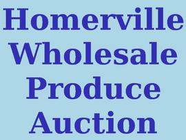 Homerville Wholesale Produce Auction